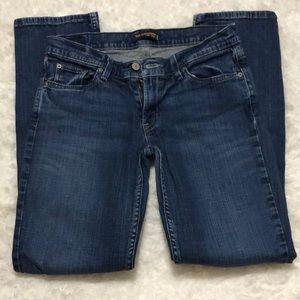 Levi's 524 jeans too super low